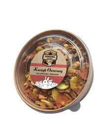 NATURAL-VIT Korona Natury Graužikų ir triušių skanėstai - vaisių krepšelis 200g