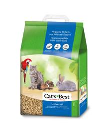 JRS Cat'S Best Universal 20 l (11 kg) + Mentelė kačių tualetui NEMOKAMAI