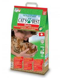 JRS Cat's Best Eco Plus 10 l +  Mentelė kačių tualetui NEMOKAMAI