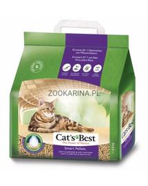 JRS Cat's Best Smart Pellets 5l kačių kraikas +Mentelė kačių tualetui NEMOKAMAI