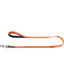 HUNTER Convenience pavadėlis 2cm/1,2m oranžinis neonas