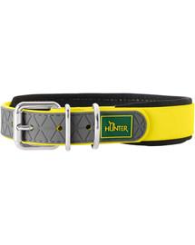 HUNTER Convenience Comfort antkaklis dydis S-M (45) 32-40/2cm geltonas neonas