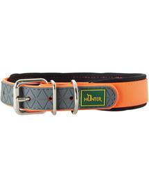 HUNTER Convenience Comfort antkaklis dydis L-XL (65) 52-60 / 2,5cm neoninis oranžinis