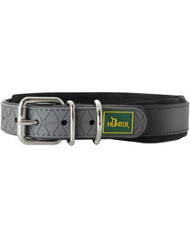 HUNTER Convenience Comfort antkaklis dydis L-XL (65) 52-60 / 2,5cm juodas