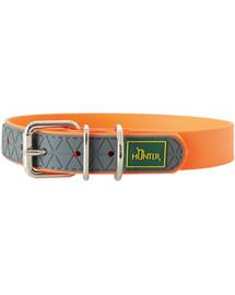 HUNTER Convenience antkaklis dydis M (50) 38-46/2,5cm oranžinis neonas