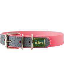 HUNTER Convenience antkaklis dydis L (60) 47-55/2,5cm rožinis neonas