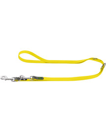 HUNTER Convenience pavadėlis 1,5cm/2m geltonas neonas