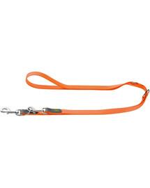 HUNTER Convenience pavadėlis  2cm/2m oranžininė neonas