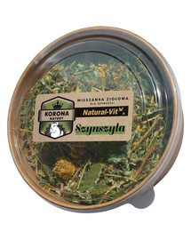 NATURAL-VIT Korona Natury maisto mišinys šinsiloms 70 g