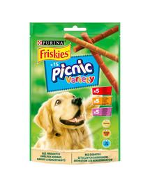 FRISKIES Picnic Variety 8x126g (120 vnt.) Šunų skanėstai