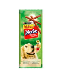 FRISKIES Picnic su jautiena 32x42 g (160vnt ) Šunų skanėstai
