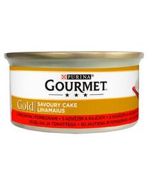 GOURMET Gold Savoury Cake Su jautiena ir pomidorais 85 g