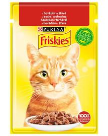 FRISKIES jautiena 26x85g šlapias kačių maistas