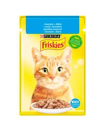 FRISKIES lašiša x85g šlapias kačių maistas