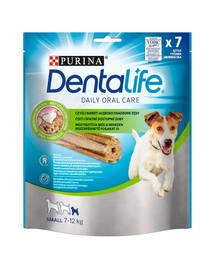 PURINA Dentalife Small 6x115g (42vnt) dantų skanėstai suaugusiems mažų veislių šunims