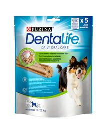 PURINA Dentalife Medium 6x115g (30vnt,)dantų skanėstais vidutinių veislių suaugusiesiems