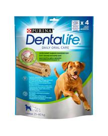 PURINA Dentalife Large 6x142g (24vnt .)dantų  skanėstai suaugusiems didelių veislių šunims