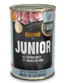 BELCANDO Junior vištiena + kiaušinis 400 g