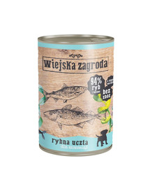 WIEJSKA ZAGRODA Žuvų šventė šuniukams 400 g