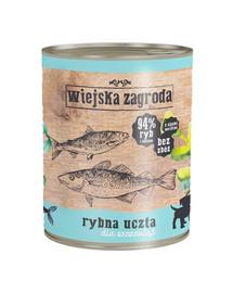 WIEJSKA ZAGRODA Žuvų šventė šuniukams 800 g