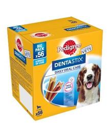 PEDIGREE DentaStix (średnie rasy) przysmak dentystyczny dla psów 56 szt. - 8x180g + SelfieSTIX GRATIS