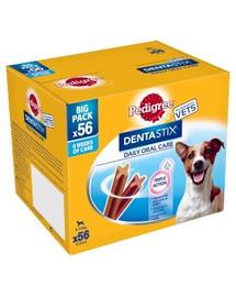 PEDIGREE DentaStix (małe rasy) przysmak dentystyczny dla psów 56 szt. - 8x110g + SelfieSTIX GRATIS