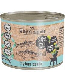 WIEJSKA ZAGRODA Žuvų šventė šuniukams 200 g