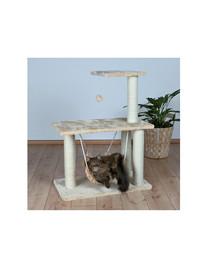 Trixie Morella kačių stovas su draskykle, hamaku, žaisliuku, 96 cm, smėlinis