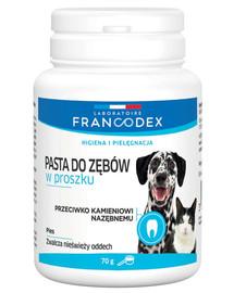 FRANCODEX  Milteliai - dantų pasta 70 g šunims ir katėms