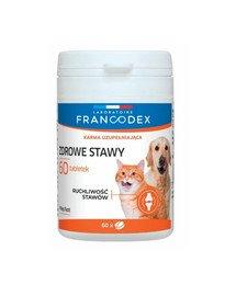 FRANCODEX Sveikų sąnariių papildas, šunims ir katėms 60 tablečių