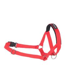 AMI PLAY Postroj pro psy nylonový pro  Halter N1 Yorkshire Terrier 1.5 cm červený