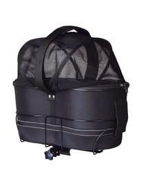 TRIXIE dviračių krepšys, skirtas plačioms bagažinėms, 49 × 29 × 60 cm, juoda