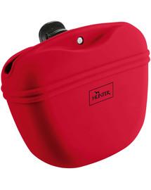 HUNTER Lugo M silikoninis užkandžių krepšys raudonas