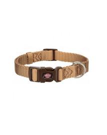 TRIXIE Apykaklė Premium, L–XL: 40–65 cm/25 mm , karamelės spalva
