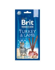 BRIT Premium by Nature Cat Sticks Turkey&Lamb 15 g