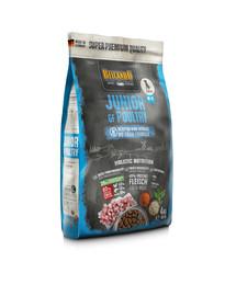 BELCANDO Finest Grain Free Junior M-XL 4 kg sausas maistas šuniukams