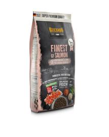 BELCANDO Finest Grain Free Salmon XS-M 1 kg  sausas šunų maistas lašiša
