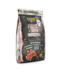 BELCANDO Finest Grain Free Salmon XS-M 4 kg sausas šunų maistas lašiša