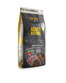 BELCANDO Adult Active 1 kg sausas maistas padidinto aktyvumo šunims