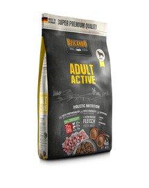 BELCANDO Adult Active 4 kg sausas maistas padidinto aktyvumo šunims
