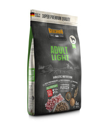 BELCANDO Adult Light M-XL 4 kg sausas maistas neaktyviems šunims
