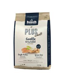 BOSCH Plus su upėtakiu ir bulvėmis 2,5 kg