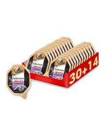 SHEBA Selection in Sauce su veršiena 44 x 85 g (30 + 14 nemokamai)