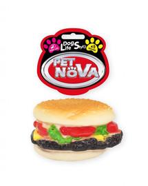 PET NOVA DOG LIFE STYLE Hamburgeris žaislas šuniui 9 cm