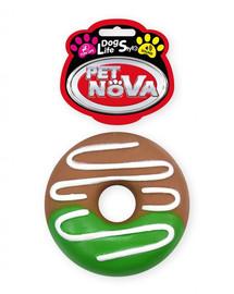 PET NOVA DOG LIFE STYL E Spurga su  glazūra 10 cm žaislu šuniui
