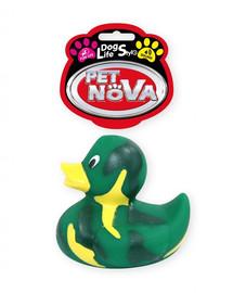 PET NOVA DOG LIFE STYLE Anties žaislas šuniui 7 cm žalia