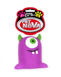 PET NOVA DOG LIFE STYLE Monster 10cm violetinis