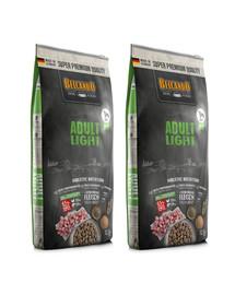 BELCANDO Adult Light M-XL 25 kg (2x12.5 kg)sausas maistas neaktyviems šunims