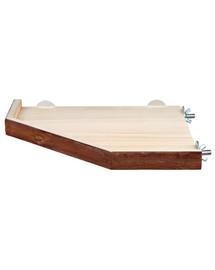TRIXIE Natural Living półka do klatki dla świnek morskich i królikó, 33x33cm