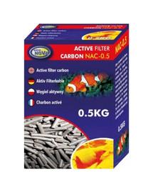 AQUA NOVA Akvariumo aktyvuota anglis 0.5 kg NAC-0.5